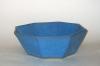 Blue Octagon Bowl, large